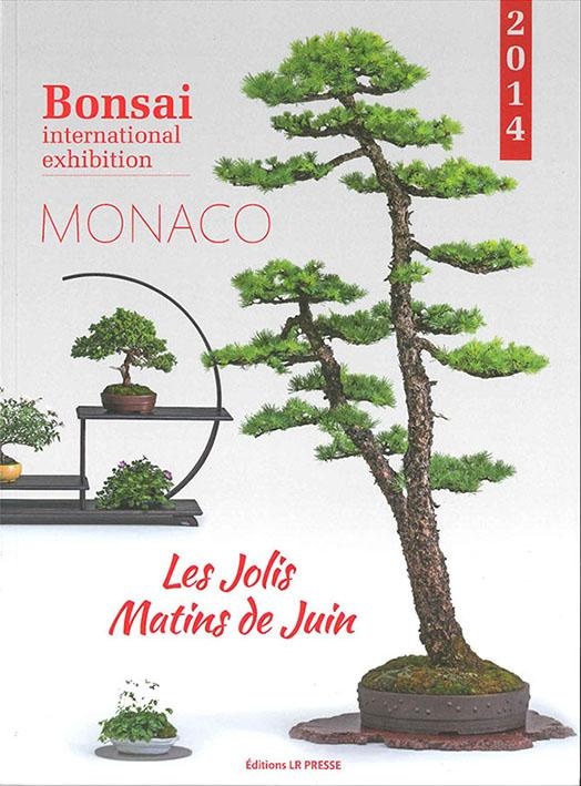 Bonsai International Exhibition, Monaco 2014, a cura di Esprit Bonsai - Libro