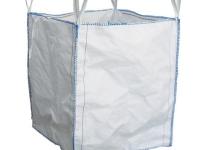 Big bag in polipropilene bianco usato 90x90 cm, capienza 1500 lt