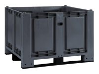 Cargopallet 700 PLUS grigio industriale con 3 travette, 1200x1000xh830